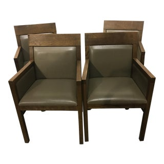 Arts & Crafts Style Chairs - Set of 4