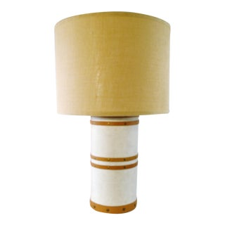 Jamie Young Table Barrel Lamp For Sale