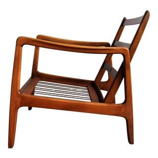Ole Wanscher for France and Daverkosen Mid-Century Modern Danish Teak Lounge Chair