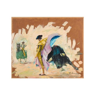 'Suit of Lights', Matador and Toreador in the Ring, Circa 1960 For Sale