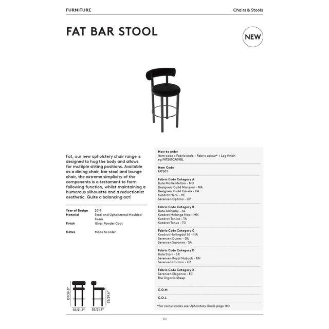 Tom Dixon Tom Dixon Fat Bar Stool Cassia For Sale - Image 4 of 10