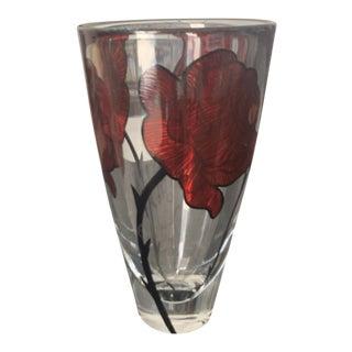 Kosta Boda Rose Vase For Sale