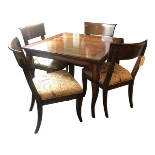 Woodbridge Furniture Dining Set - 5 Pieces For Sale
