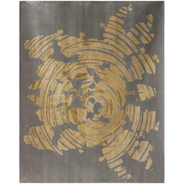 "Emma Gardner ""Subconscious"" Rug by Emma Gardner For Sale - Image 4 of 4"