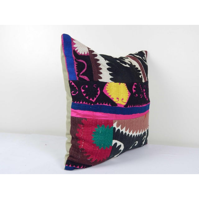 """These beautiful 20"""" x 20"""" pillow covers were made from an authentic, vintage Turkish rug handwoven in the 1960s. Bright..."""