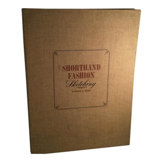 1960s Shorthand Fashion Sketching Book by Patricia L Rowe For Sale