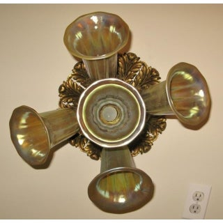 Caldwell Iridescent Shade Ceiling Light or Flush Mount Preview