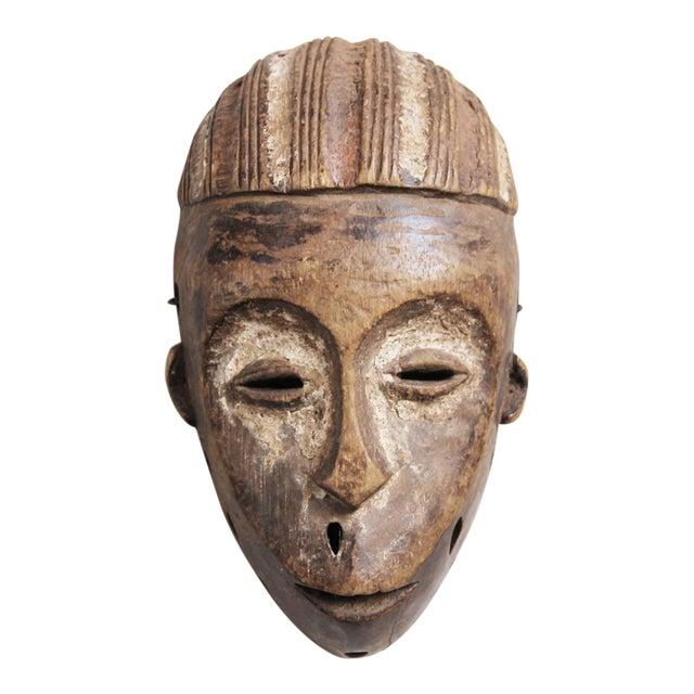 Wooden Lega Congo Mask - Image 1 of 3
