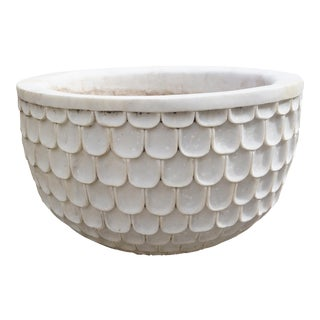 20th Century Italian Marble Vessel For Sale
