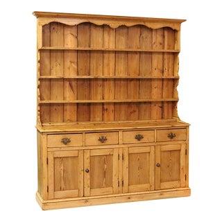 Early 19th Century English Pine Welsh Dresser