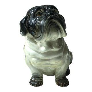Vintage Ceramic Bulldog Figurine