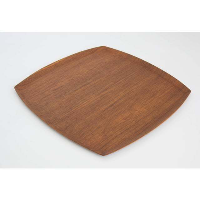 Molded Teak Serving Tray - Image 5 of 5