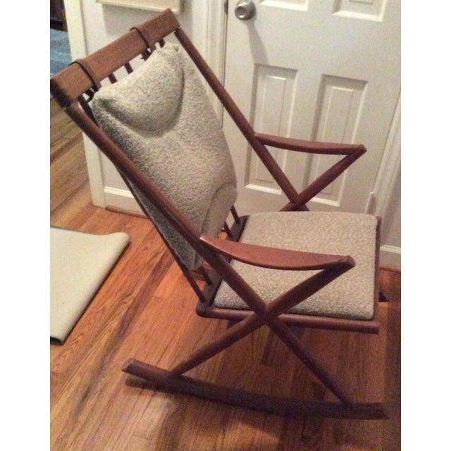 Bramin Style Mid-Century Danish Rocking Chair - Image 5 of 11