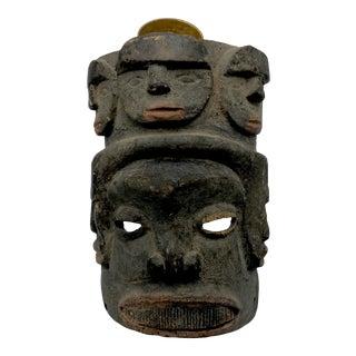 Antique Nigerian Ceremonial Ancestor Mask For Sale