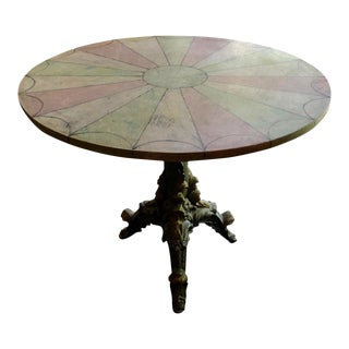 1930s Vintage Venetian Style Table For Sale