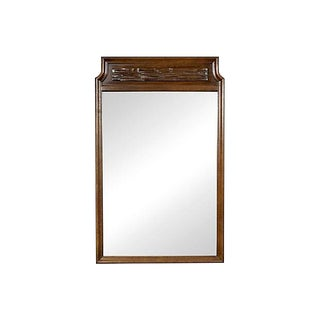 1960s Thomasville Brutalist-Style Mirror For Sale