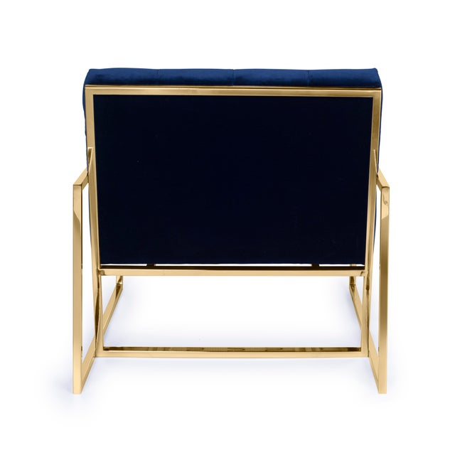 Pasargad's Firenze Collection Lounge Chair - Image 7 of 8