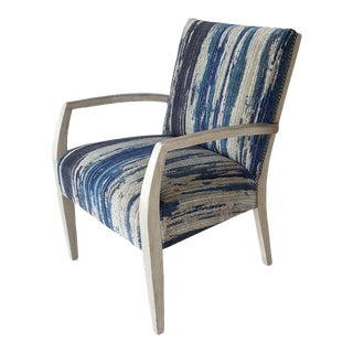 Mid-Century Occasional Lounge Chair Re-imagined For Sale