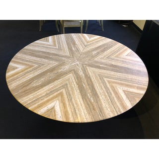 1980s Contemporary Italian Travertine Stone Table Preview