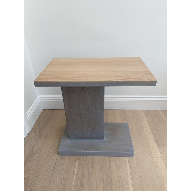 Architectural Modern Side Table For Sale - Image 9 of 12