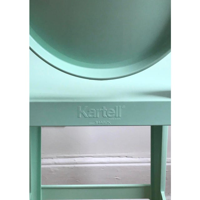 Kartell Contemporary Philippe Starck for Kartell Mint Counter Stools - a Pair For Sale - Image 4 of 5