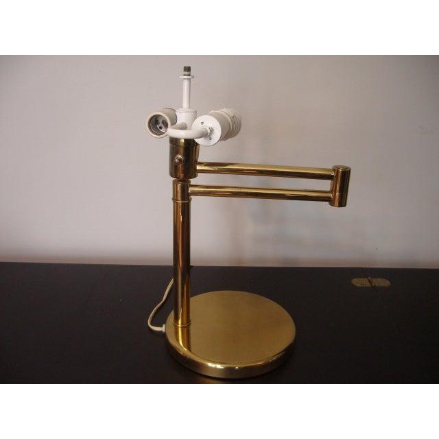 1960s 1960s Mid Century Modern Walter Von Nessen for Nessen Lighting Swing Arm Desk Lamp For Sale - Image 5 of 12