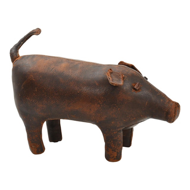 Dimitri Omersa for Abercrombie & Fitch Pig Ottoman, 1960's For Sale