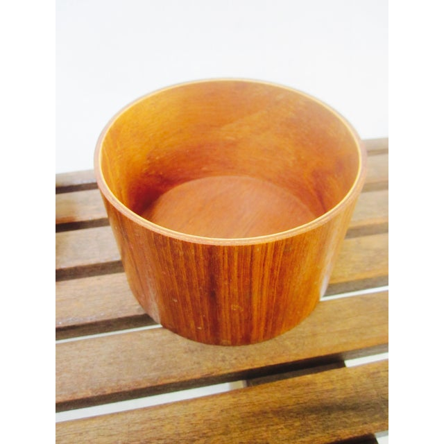 Danish Modern Teak Canister Set - Image 11 of 11