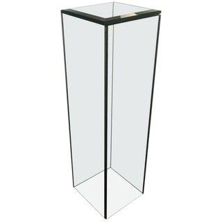 Mid-Century Modern Glass Pedestal