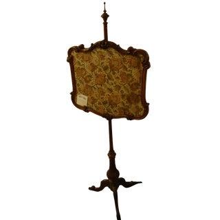 19th Century Antique Rococo Fire Screen For Sale