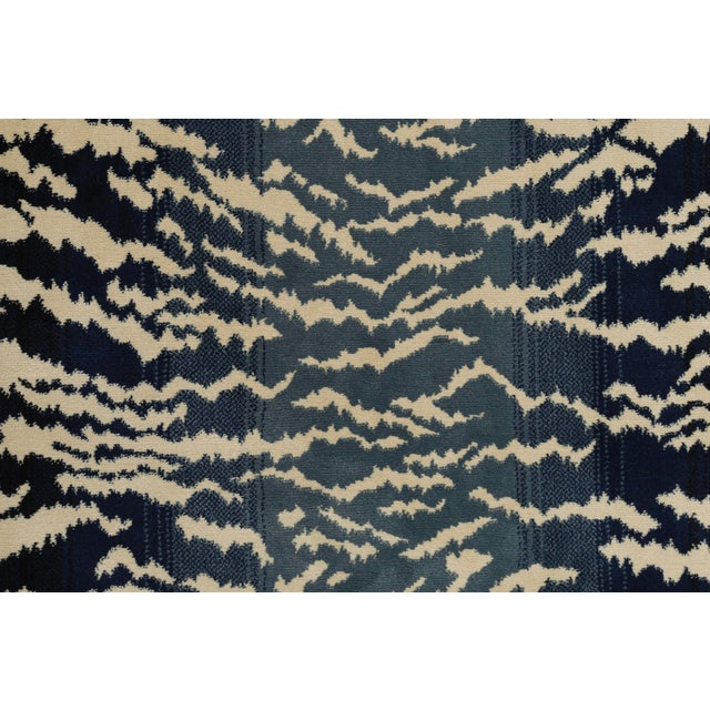 Stark Studio Rugs Tabby Blue Sample For Sale
