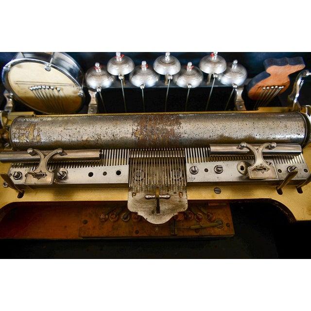 F Conchon 19th Century Swiss Cylinder Music Box - Image 6 of 11