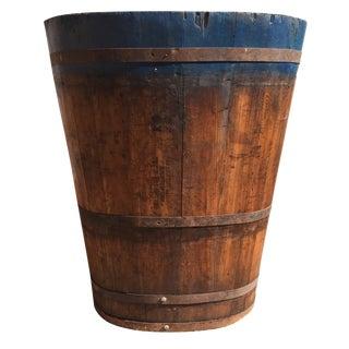 Vintage French Vineyard Barrels For Sale