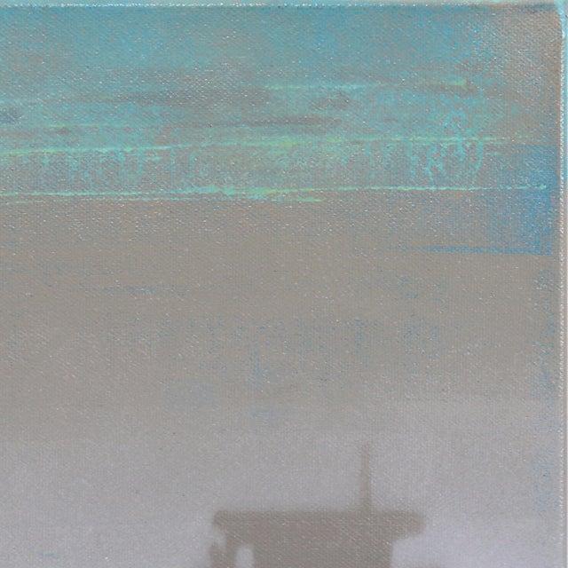 "Original Beach Inspired Artwork by Kathleen Keifer ""Grey Ghost"" For Sale - Image 4 of 8"