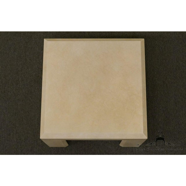 """White Lane Furniture Contemporary Style 28"""" End Table For Sale - Image 8 of 13"""