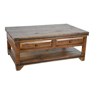 Crafters and Weavers Addison Coffee Table For Sale