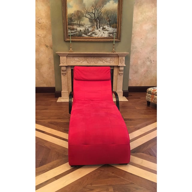Dania Red Giselle Chaise Lounge - Image 2 of 6