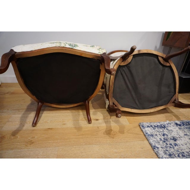 1980s Vintage French Berger Chairs- A Pair For Sale - Image 9 of 11
