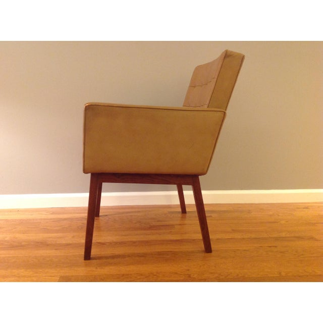 Knoll Vincent Cafiero Mid-Century Modern Armchair for Knoll For Sale - Image 4 of 11