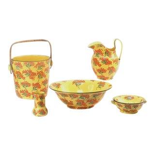 Porcelain Wash Stand Set - 5 Pieces