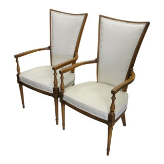 Hollywood Regency Occasional Chairs - a Pair For Sale