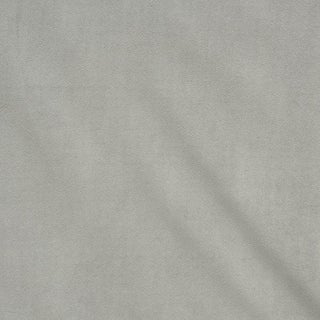 Schumacher Empress Performance Velvet Fabric in Dove For Sale