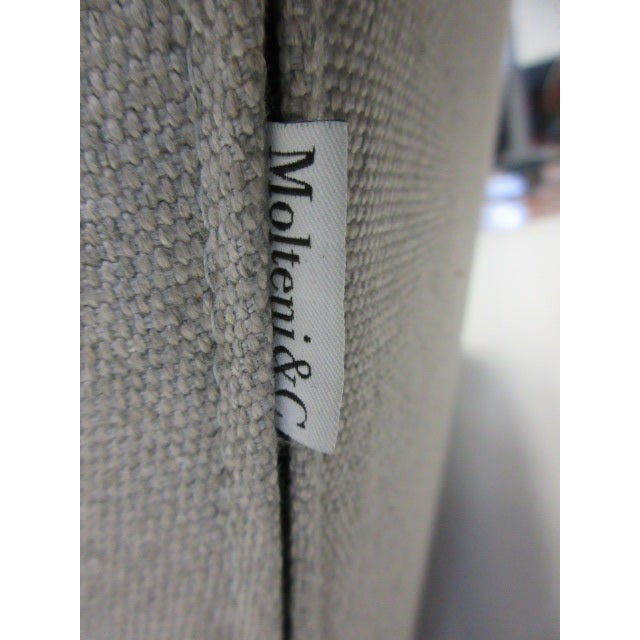 Textile Gray Molteni Doda Low Armchair For Sale - Image 7 of 10