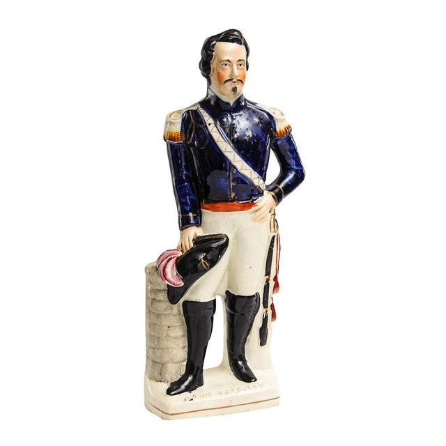 Antique Staffordshire Napoleon For Sale In West Palm - Image 6 of 6