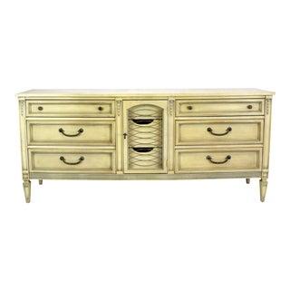 Mid CenturyNeoclassical Style Dresser