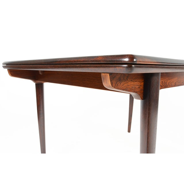 Brazilian Rosewood Draw Leaf Dining Table - Image 6 of 11