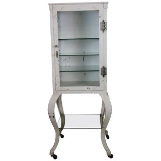 Turn of the Century Medical Cabinet For Sale