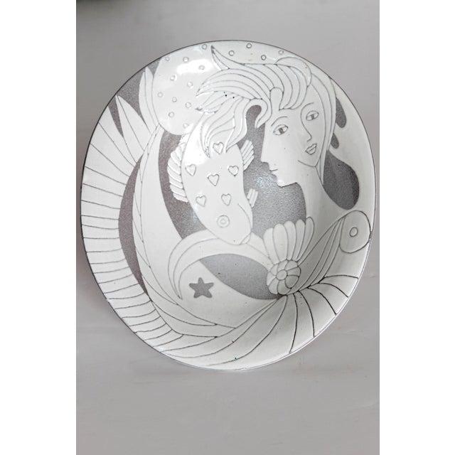 Ceramic Mid-Century Bowl by Upsala-Ekeby For Sale - Image 7 of 11