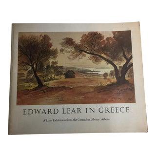 """1971 """"Edward Lear in Greece"""" Book"""