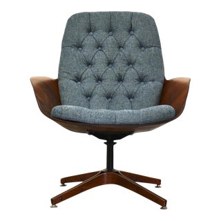 """George Mulhauser Plycraft """"Mrs"""" Lounge Chair For Sale"""